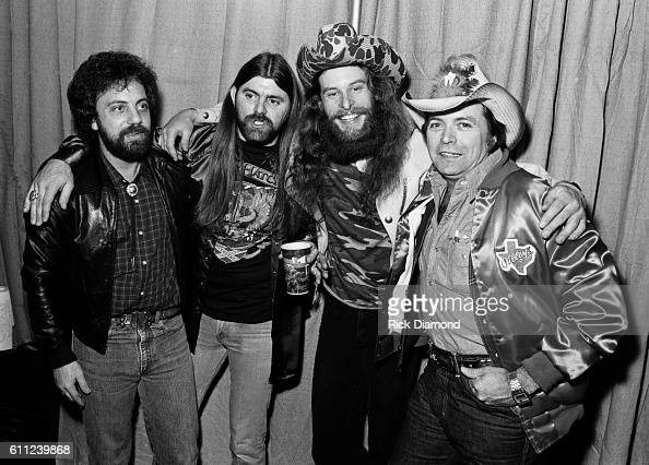 Billy Joel Dave Hlubek Molly Hatchet Ted Nugent and Mickey Gilley attend CDB Jam VIII on January 17 1981