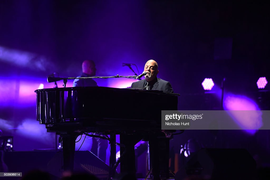 Billy Joel performs at Madison Square Garden on January 7 2016 in New York City