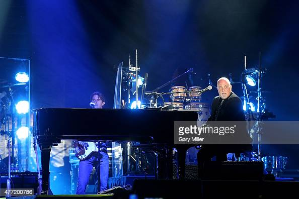 Billy Joel performs in concert during day 4 of the Bonnaroo Music Arts Festival on June 14 2015 in Manchester Tennessee