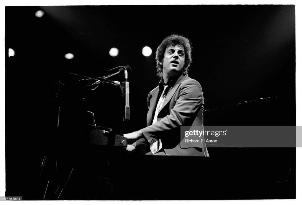 Billy Joel performs live on stage during his 1980 US tour