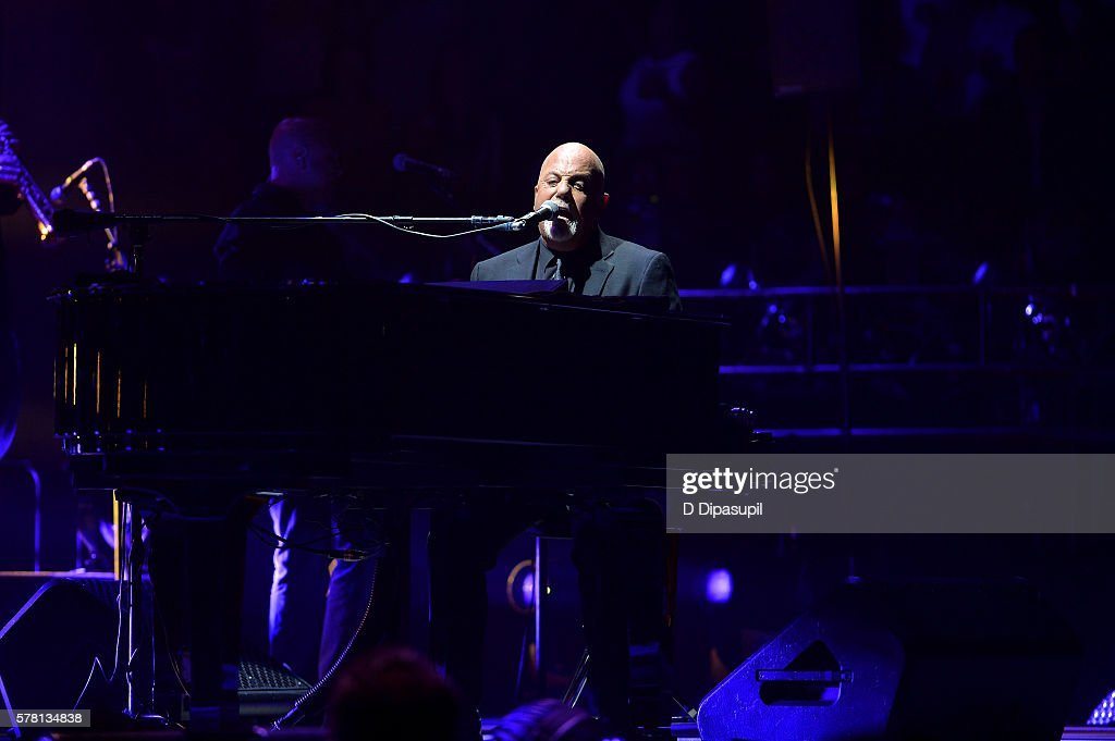 Billy Joel In Concert New York New York Getty Images