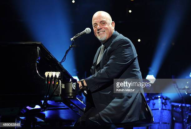 Billy Joel performs onstage celebrating his 65th birthday at Madison Square Garden on May 9 2014 in New York City