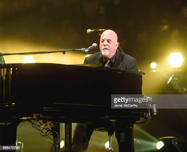 Billy Joel perfroms at Billy Joel In Concert New York New York at Madison Square Garden on May 25 2017 in New York City