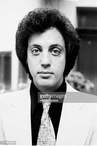 Billy Joel portrait backstage New York 7th December 1977