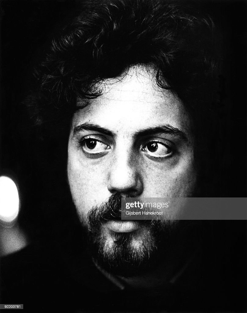 Billy Joel posed in Amsterdam Holland in 1976