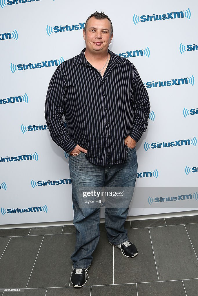 Billy Joel trumpet player Carl Fischer visits the SiriusXM Studios on April 18, 2014 in New York City.