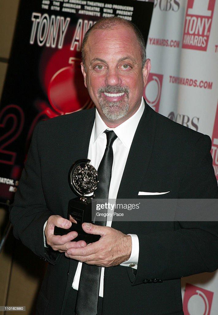 2003 Tony Awards - Press Room