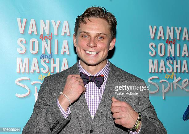 Billy Magnussen attending the Broadway Opening Night Performance after party for 'Vanya and Sonia and Masha and Spike' at the Gotham Hall in New York...