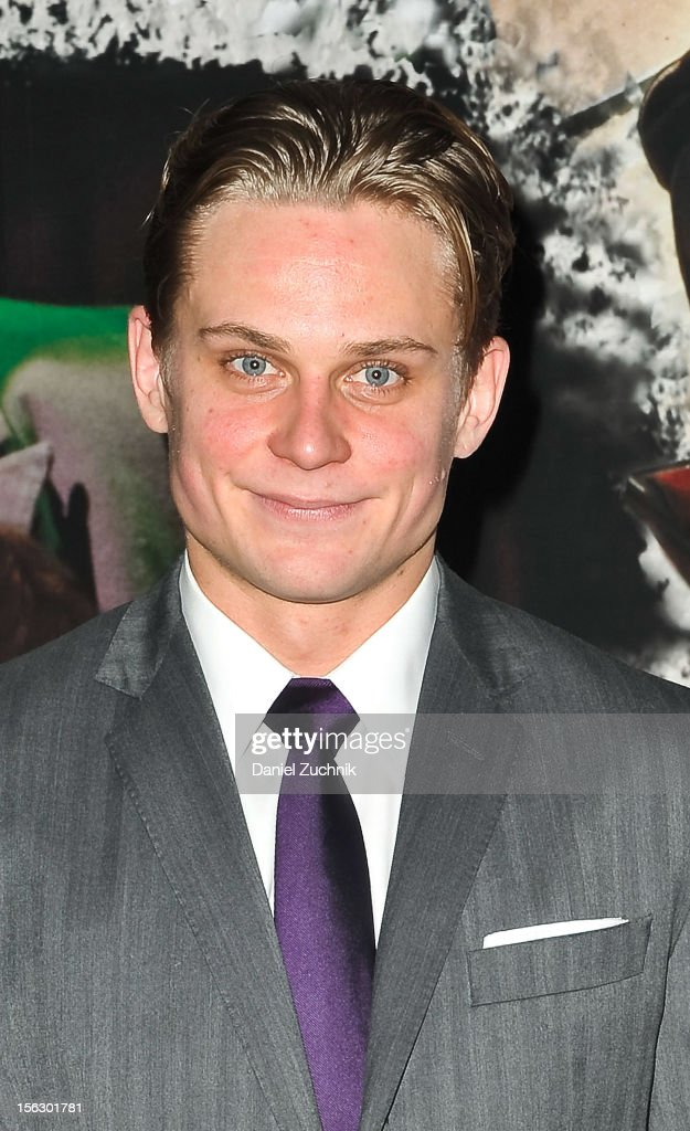 Billy Magnussen attends the 'Vanya and Sonia and Masha and Spike,' press night at Mitzi E. Newhouse Theater on November 12, 2012 in New York City.