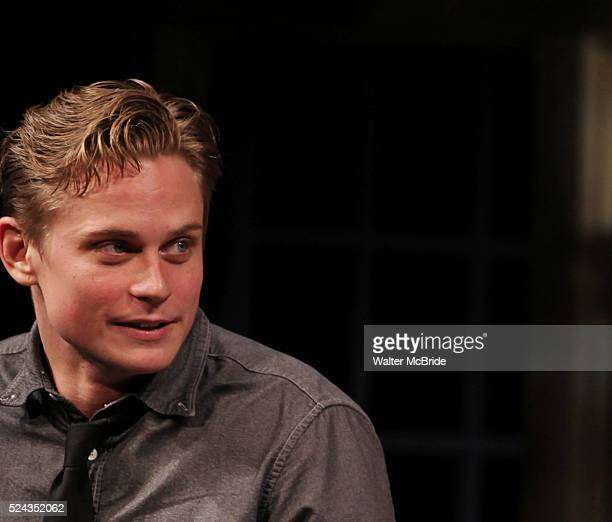 Billy Magnussen during the Broadway Opening Night Performance of 'Vanya and Sonia and Masha and Spike' at the Golden Theatre in New York City on...