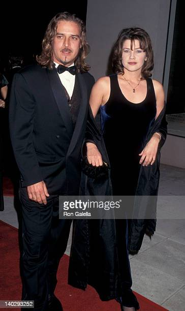 Billy Marti and Daphne Zuniga at the 6th Annual 'Fire Ice' Ball Barney's New York Store Beverly Hills