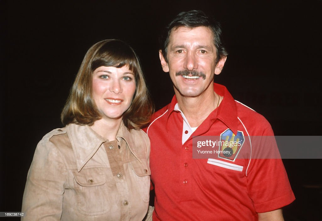 <a gi-track='captionPersonalityLinkClicked' href=/galleries/search?phrase=Billy+Martin&family=editorial&specificpeople=93150 ng-click='$event.stopPropagation()'>Billy Martin</a> and his girlfriend, Jill Guiver, are photographed at the filming of a Miller Lite beer commercial December 2, 1981 in New York City.