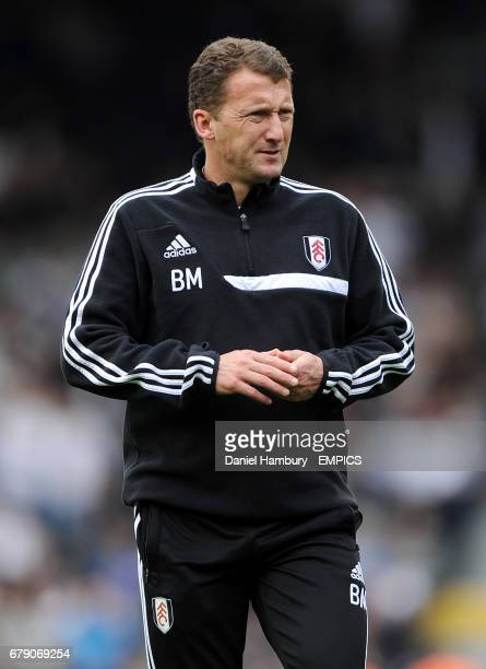 Billy McKinlay Fulham first team coach