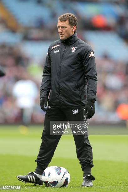 Billy McKinlay Fulham first team coach