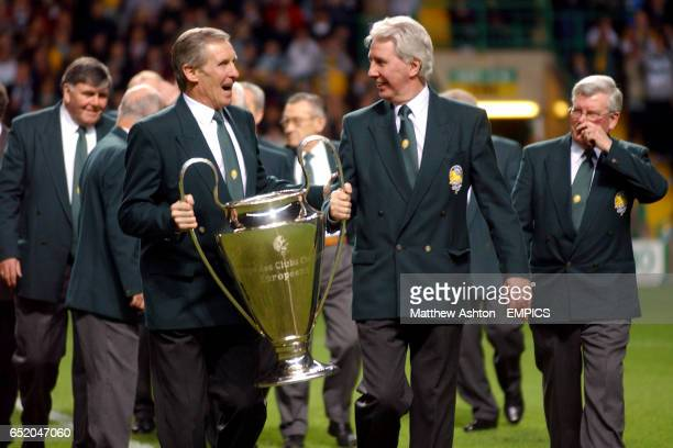 Billy McNeill and the rest of the Lisbon Lions parade the European Cup that they won in 1967