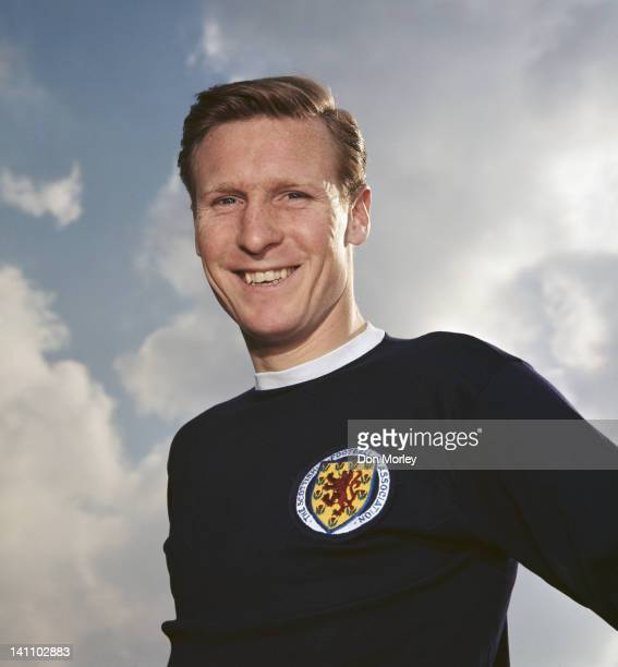 Billy McNeill of Celtic FC and Scotland poses for a portrait on 24th February 1968 in Hampden Park Glasgow Great Britain