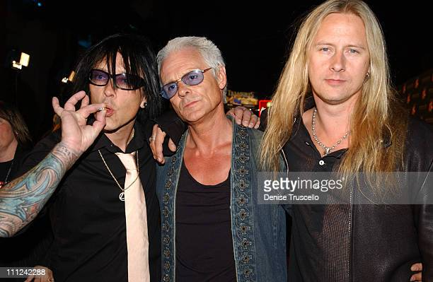 Billy Morrison Michael Des Barres and Jerry Cantrell
