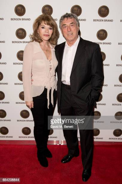 Billy Murray and wife Elaine attend Bergen Brand Handbag Launch At Wolf Badger on March 16 2016 in London England
