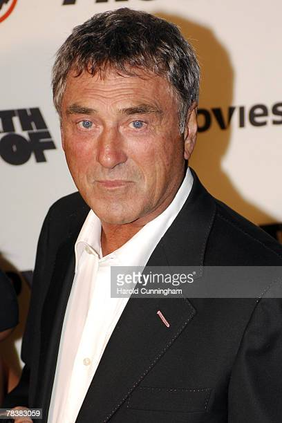 Billy Murray arrives at the Death Proof Sky Movies ProCelebrity Banger Race on September 17 2007 at Wimbledon Greyhound Stadium in London England