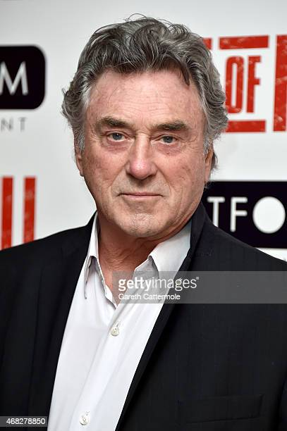 Billy Murray attends a private screening of 'Age Of Kill' at Ham Yard Hotel on April 1 2015 in London England