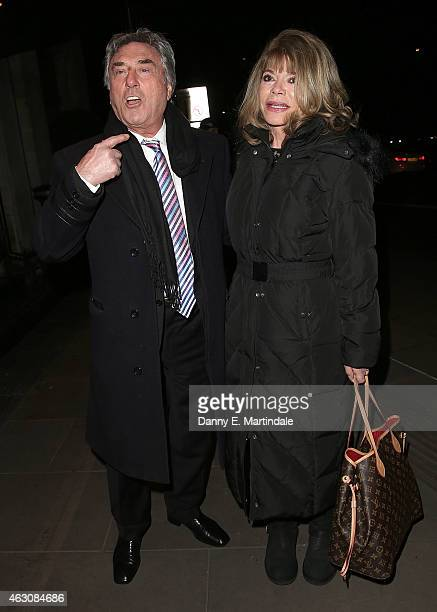 Billy Murray attends the White And Black Ball for the conservative party donors at The Grosvenor House Hotel on February 9 2015 in London England