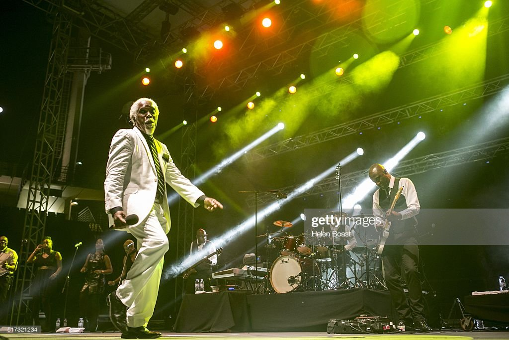 Billy Ocean performs at Irish Village on March 24, 2016 in Dubai, United Arab Emirates.