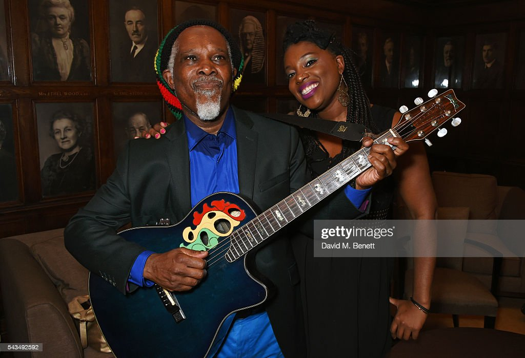 <a gi-track='captionPersonalityLinkClicked' href=/galleries/search?phrase=Billy+Ocean&family=editorial&specificpeople=3059490 ng-click='$event.stopPropagation()'>Billy Ocean</a> (L) poses backstage with his daughter Cherie Charles following his performance at the Regent Street Polytechnic 125th Anniversary gala at the Regent Street Polytechnic, University of Westminster, where he was awarded an Honorary Doctorate of Music, on June 28, 2016 in London, England.