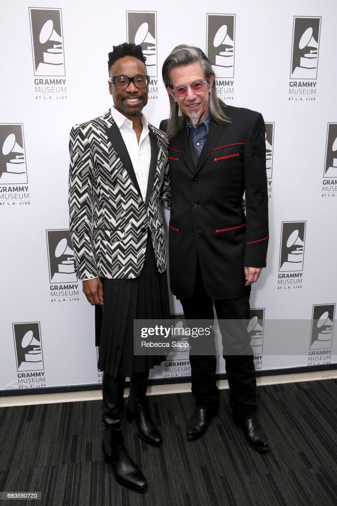 Billy Porter and Executive Director of the GRAMMY Museum Scott Goldman at The Drop: Billy Porter at The GRAMMY Museum on May 15, 2017 in Los Angeles, California.