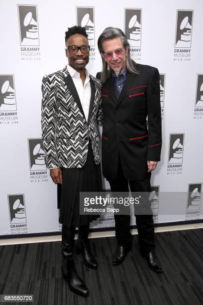 Billy Porter and Executive Director of the GRAMMY Museum Scott Goldman at The Drop Billy Porter at The GRAMMY Museum on May 15 2017 in Los Angeles...