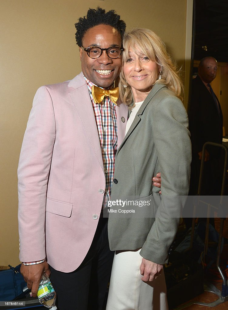Billy Porter and Judith Light attend the 2013 Tony Awards Meet The Nominees Press Reception on May 1, 2013 in New York City.