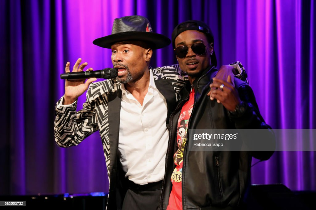 Billy Porter and Zaire Park perform at The Drop: Billy Porter at The GRAMMY Museum on May 15, 2017 in Los Angeles, California.