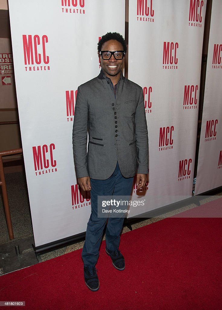 Billy Porter attends Miscast 2014 at Hammerstein Ballroom on March 31, 2014 in New York City.