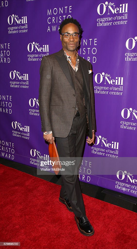 Billy Porter attends the 16th Annual Monte Cristo Award ceremony honoring George C Wolfe presented by The Eugene O'Neill Theater Center at Edison...