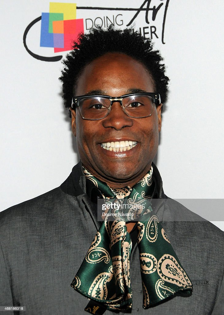 Billy Porter attends the 30th Annual Doing Art Together Honors at Mandarin Oriental New York... Show more - billy-porter-attends-the-30th-annual-doing-art-together-honors-at-picture-id468186318