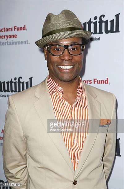 Billy Porter attends the Actors Fund Benefit Performance of 'Beautiful The Carole King Musical' at Stephen Sondheim Theatre on April 27 2014 in New...