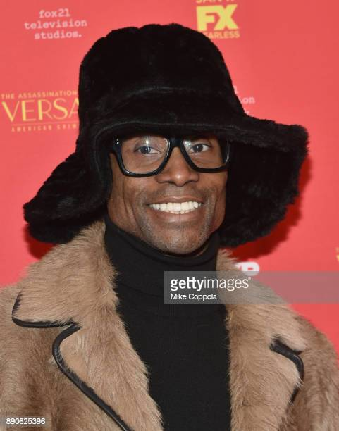 Billy Porter attends 'The Assassination Of Gianni Versace American Crime Story' New York Screening at Metrograph on December 11 2017 in New York City