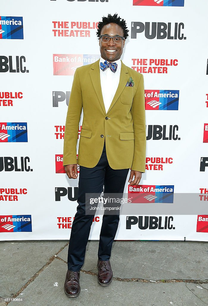 <a gi-track='captionPersonalityLinkClicked' href=/galleries/search?phrase=Billy+Porter&family=editorial&specificpeople=787592 ng-click='$event.stopPropagation()'>Billy Porter</a> attends the Public Theater's 2014 Gala celebrating 'One Thrilling Combination' on June 23, 2014 in New York, United States.