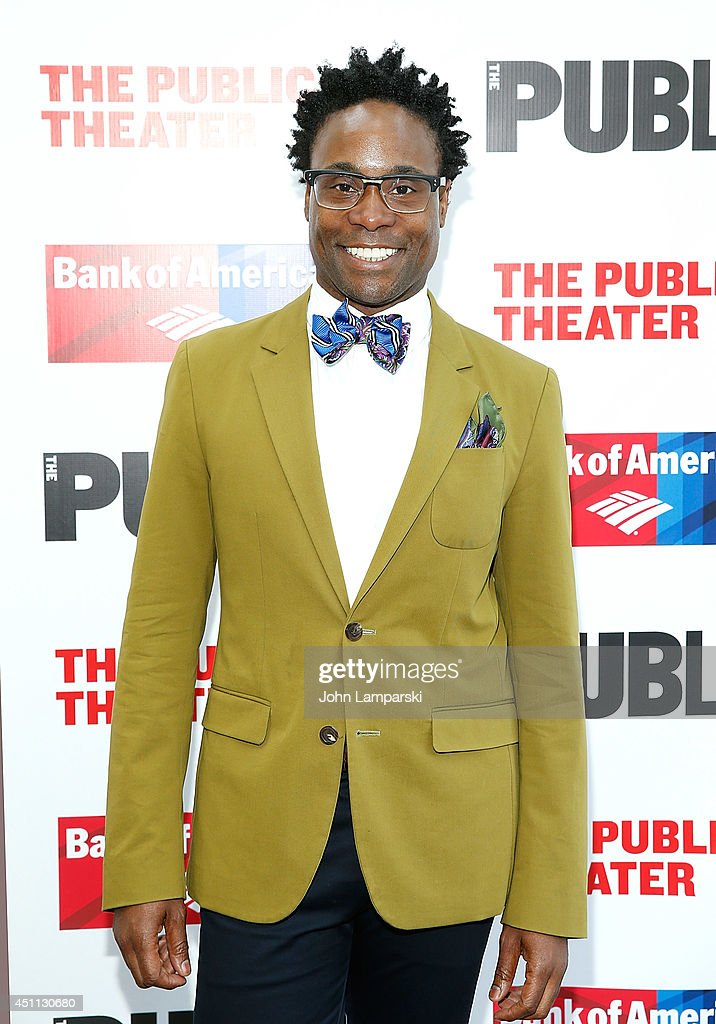 Billy Porter attends the Public Theater's 2014 Gala celebrating 'One Thrilling Combination' on June 23, 2014 in New York, United States.