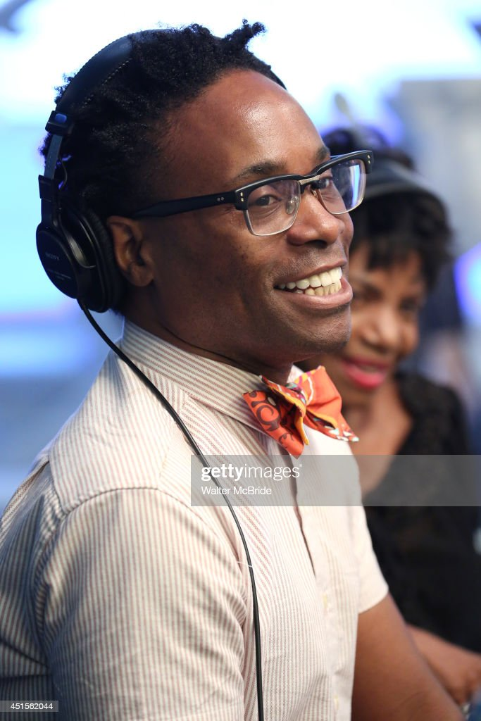 Billy Porter during the special LIVE-In Studio performance of 'Mighty Real: A - billy-porter-during-the-special-livein-studio-performance-of-mighty-picture-id451562044