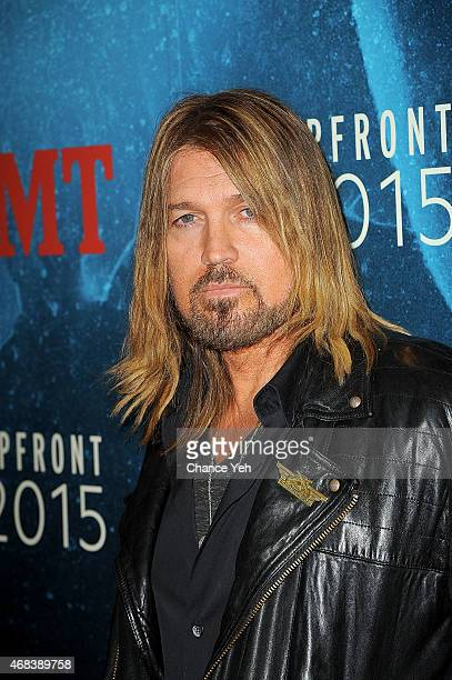 Billy Ray Cyrus attends 2015 CMT Upfront at TheTimesCenter on April 2 2015 in New York City