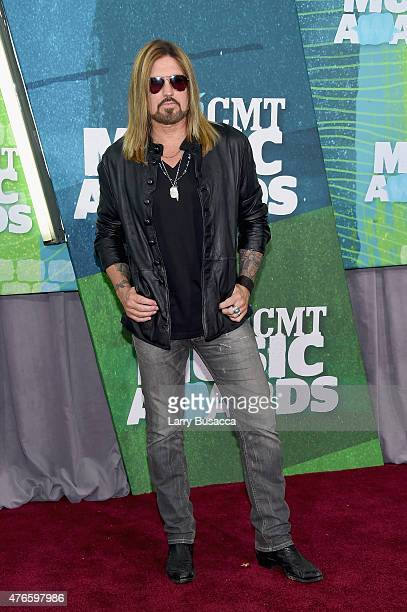 Billy Ray Cyrus attends the 2015 CMT Music awards at the Bridgestone Arena on June 10 2015 in Nashville Tennessee