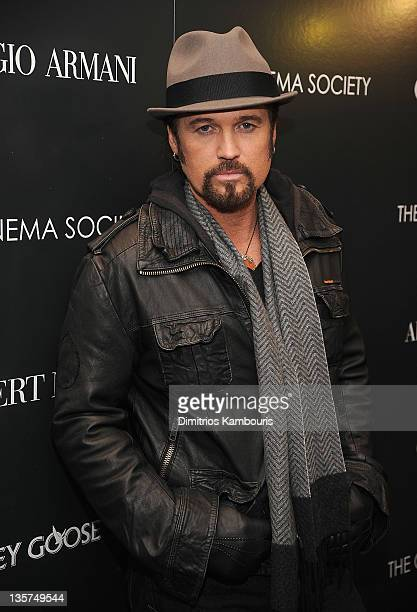 Billy Ray Cyrus attends the Giorgio Armani Cinema Society screening of 'Albert Nobbs' at the Museum of Modern Art on December 13 2011 in New York City