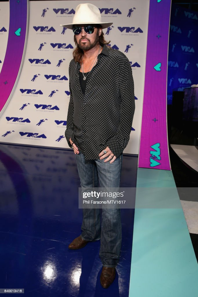 Billy Ray Cyrus during the 2017 MTV Video Music Awards at The Forum on August 27, 2017 in Inglewood, California.