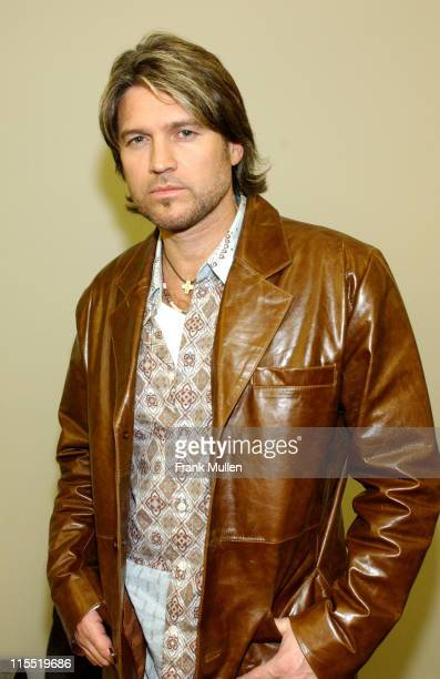 Billy Ray Cyrus during The 34th Annual Dove Awards Press Room at The Gaylord Center in Nashville Tennessee United States