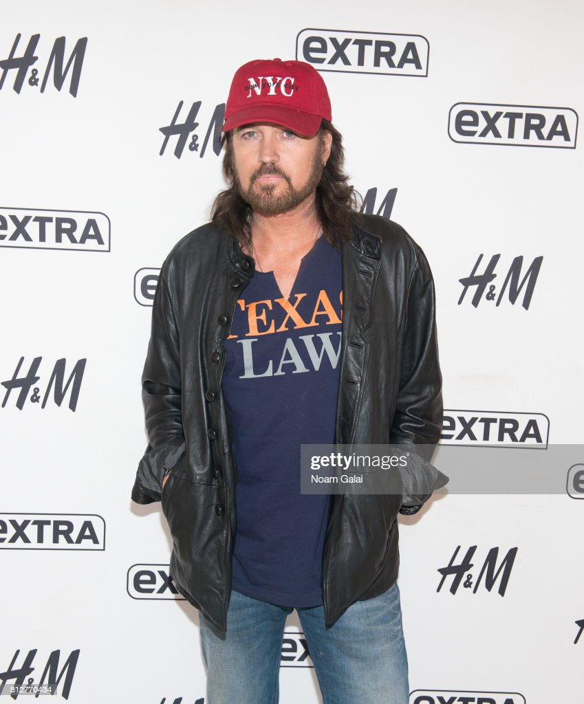 Billy Ray Cyrus visits 'Extra' at their New York studios at H&M in Times Square on July 11, 2017 in New York City.
