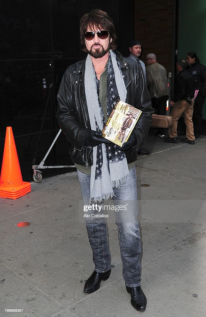Billy Ray Cyrus visits Good Morning America on April 18, 2013 in New York City.