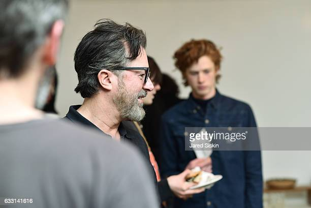 Billy Reid attends Billy Reid Front Row NYFW Men's at The Cellar at The Beekman on January 30 2017 in New York City
