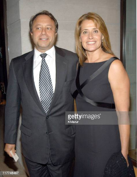 Billy Siegel and Lorraine Bracco during Central Park Conservancy hosts 150th Anniversary of the Park at Mandarin Oriental Hotel in New York City New...