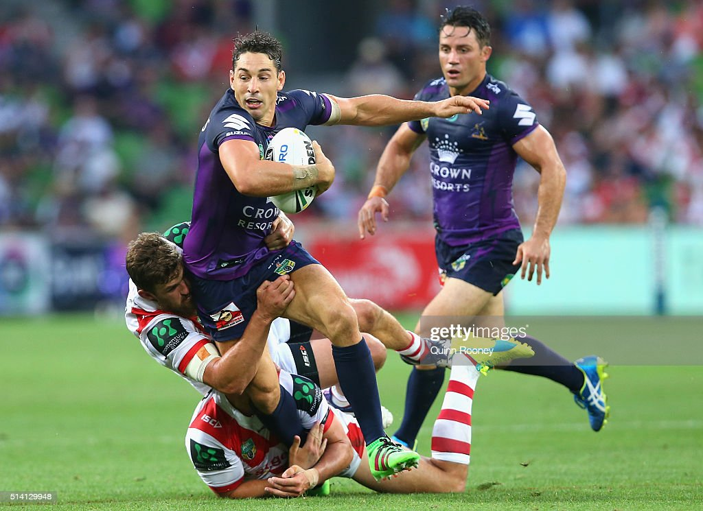 NRL Rd 1 - Storm v Dragons