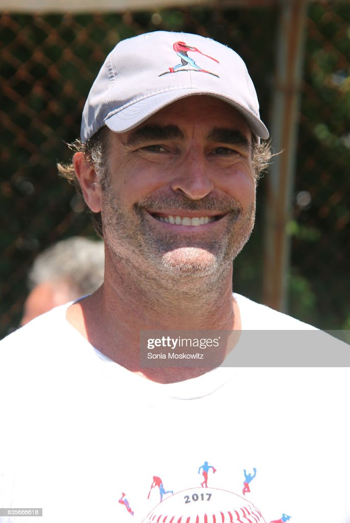 Billy Strong attends the 69th Annual Artists and Writers Softball Game at Herrick Park on August 19, 2017 in East Hampton, New York.